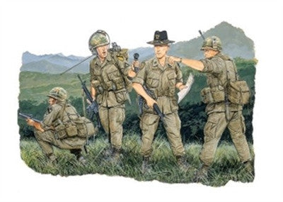 Dragon Military Models 1/35 US 1st Cavalry (4) Kit