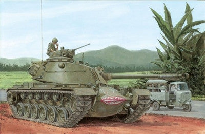 Dragon Military Models 1/35 M48A3 Mod B Tank Smart Kit