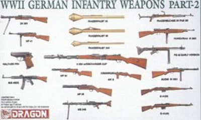 Dragon Military Models 1/35 WWII German Infantry Weapons Part 2 (38) Kit