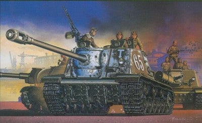 Dragon Military Models 1/35 JSU122S/152 Tank Destroyer 1939-1945 (Re-Issue) Kit