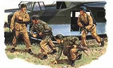 Dragon Military Models 1/35 Otto Skorzeny & Fallschirmjager Gran Sasso Raid (4) (Re-Issue) Kit