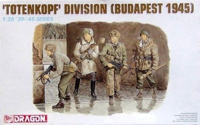 Dragon Military Models 1/35 Totenkopf Division Soldiers Budapest 1945 (4) Kit