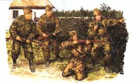 Dragon Military Models 1/35 Red Army Scouts & Snipers (4) Kit