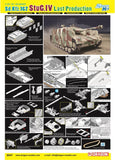 Dragon Military Models 1/35 SdKfz 167 StuG IV Last Production Tank Kit
