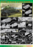 Dragon Military Models 1/35 SdKfz 10 Ausf A w/5cm Pak 38 Gun Kit