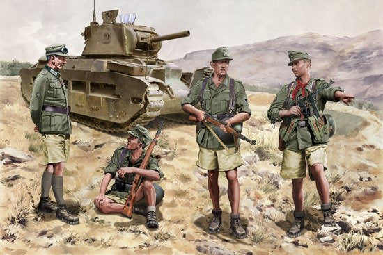Dragon Military Models 1/35 Gebirgsjager Division Crete 1941 (4) Kit