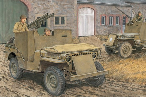 Dragon Military Models 1/35 1/4-Ton 4x4 Armored Truck Kit