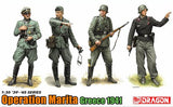Dragon Military Models 1/35 German Soldiers Operation Marita Greece 1941 (4) Kit
