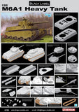 Dragon Military Models 1/35 M6A1 Heavy Tank Black Label Series Kit