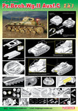 Dragon Military Models 1/35 PzBeobWg II Ausf A/C Tank (2 in 1) Smart Kit