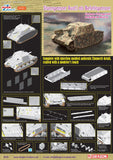 Dragon Military Models 1/35 Sturmpanzer Ausf I BefehlsPz Assault Infantry Vehicle Based on PzKpfw IV Ausf G Chassis Kit