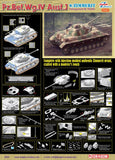 Dragon Military Models 1/35 PzBefWg IV Ausf J Tank w/Zimmerit Smart Kit