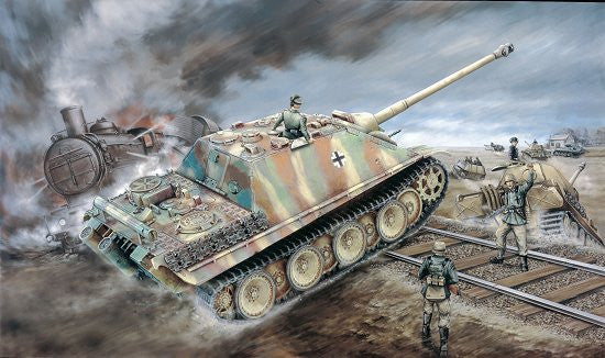 Dragon Military Models 1/72 SdKfz 173 Jagdpanther Late Version Tank Kit