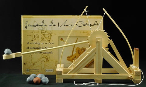 Pathfinders Leonardo DaVinci Catapult Wooden Kit