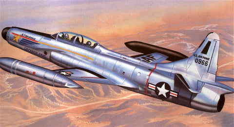 Emhar Aircraft 1/72 F94C Early Starfire USAF Interceptor Aircraft Kit