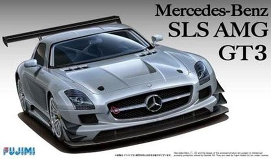 Fujimi Car Models 1/24 Mercedes Benz SLS AMG GT3 Sports Car Kit