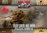 First To Fight 1/72 WWII Bofors 40mm Anti-Aircraft Gun Kit