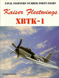 Ginter Books - Naval Fighters: Kaiser Fleetwings XBTK1