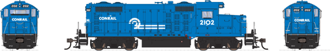Broadway Limited HO EMD GP20 w/Sound & DCC - Paragon3 - Conrail #2102 (Blue, White)