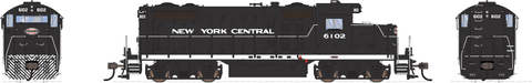 Broadway Limited HO EMD GP20 w/Sound & DCC - Paragon3 - New York Central #6105 (Black, White)