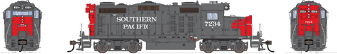 Broadway Limited HO EMD GP20 w/Sound & DCC - Paragon3 - Southern Pacific #7234 (Gray, Red)