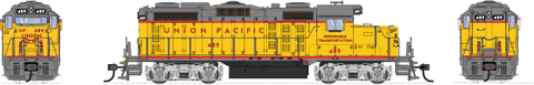 Broadway Limited HO EMD GP20 w/Sound & DCC - Paragon3 - Union Pacific #489 (Armour Yellow, Gray)