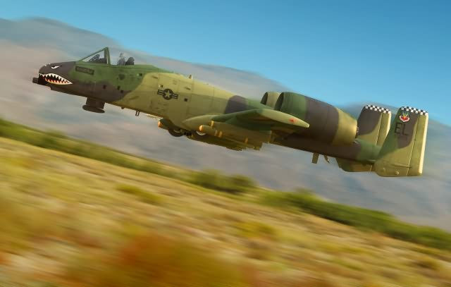 Hobby Boss Aircraft 1/48 A-10 Thunderbolt II Kit