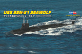 Hobby Boss Model Ships 1/700 USS SEAWOLF ATTACK SUB Kit