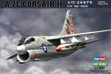 Hobby Boss Aircraft 1/48 A-7E Corsair II Kit