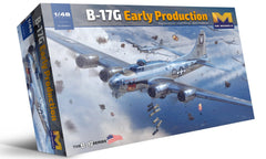 HK Models 1/48 B17G Flying Fortress Heavy Bomber (New Tool) Kit