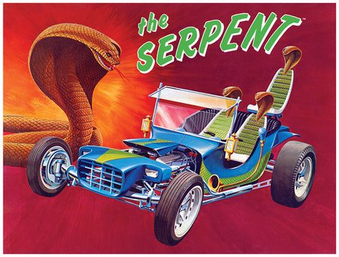 Lindberg Model Cars 1/16 Serpent Show Rod Kit