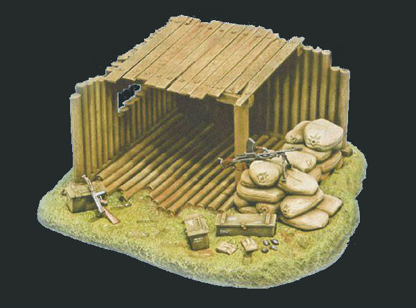 Italeri Military 1/35 Command Post Kit