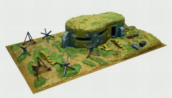 Italeri Military 1/72 WWII Bunker w/Access Kit