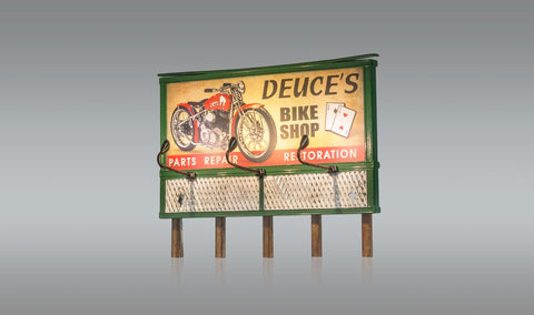 Products | Woodland Scenics HO Just Plug Billboards | Internet Hobbies