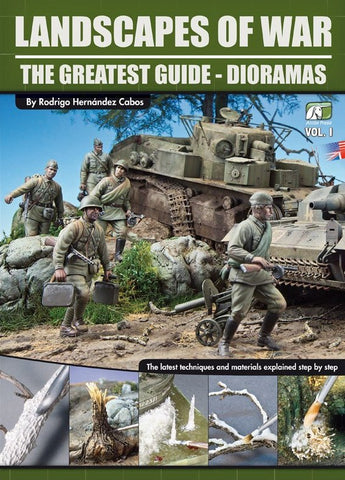 Accion Press Landscapes of War The Greatest Guide - Dioramas Vol. I 3rd Edition
