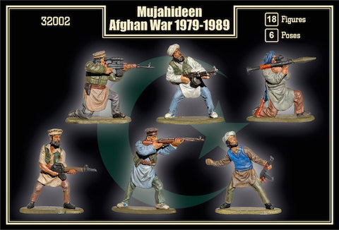Mars Military 1/32 Mujahideen Afghan War 1979-1989 (18) Kit