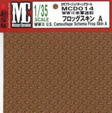 Meister Chronicle Decals 1/35 WWII US Camouflage Schema Frog Skin A