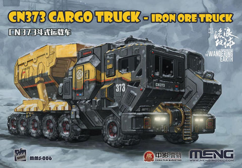 Meng Sci-Fi The Wondering Earth Movie: CN373 Iron Ore Cargo Truck Kit