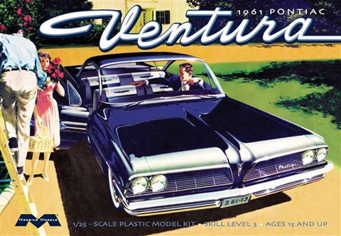 Moebius Model Cars 1/25 1961 Pontiac Ventura Car Kit