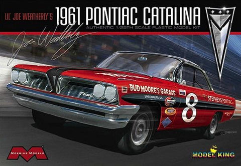 Model King 1/25 '61 Pontiac Catalina Weatherly Kit