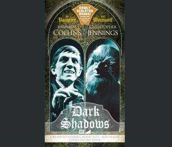 MPC Sci-Fi 1/8 Dark Shadows Barnabas Vampire & Werewolf Special Edition Box (Glows in Dark) Kit