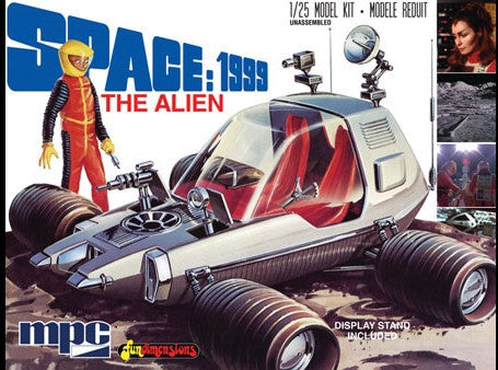 MPC Sci-Fi 1/25 Space 1999: The Alien (Moon Rover) Kit