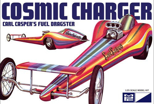 MPC Model Cars 1/25 Carl Casper's Cosmic Charger Fuel Dragster Kit
