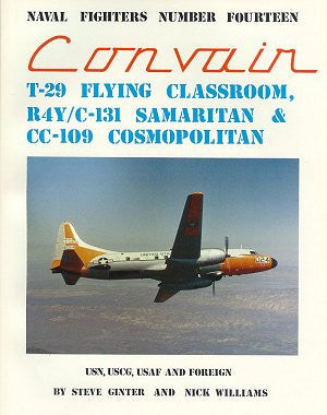 Ginter Books - Naval Fighters: Convair T29, R4Y/C131, CC109