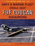 Ginter Books - Naval Fighters: Fleet & Marine F9F Cougar Fighter Squadrons