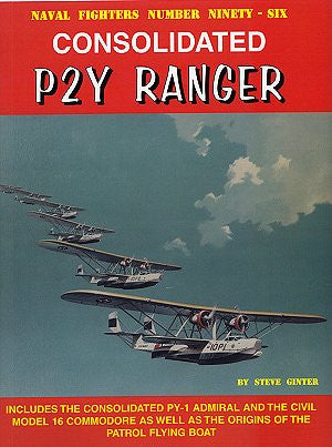 Ginter Books - Naval Fighters: Consolidated P2Y Ranger