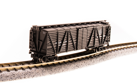 Broadway Limited N PRR K7 Stock Car with Chicken Sounds - Ready to Run - Denver & Rio Grande Western (Black)