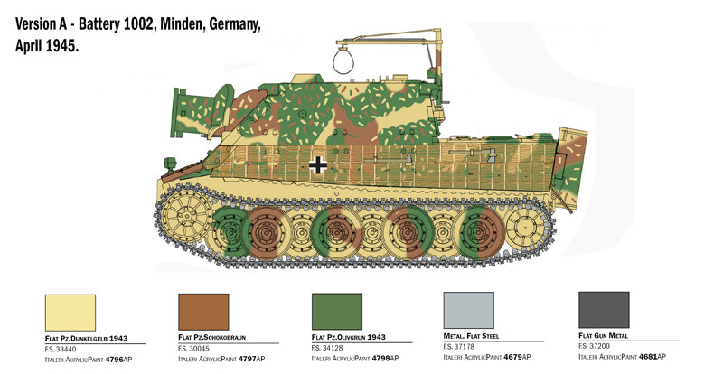 Batteries Included 1//32 Scale German Tiger Tank Diecast Tank Model with Sound /& Light Military Tank Fighter Scaled Model Collection