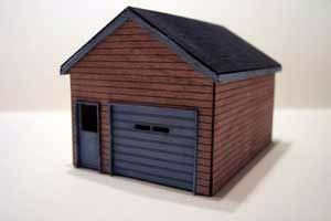 Osborn HO Lake Side Cottage Garage Kit