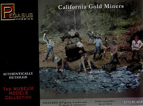 Pegasus Military 1/72 California Gold Miners (28)